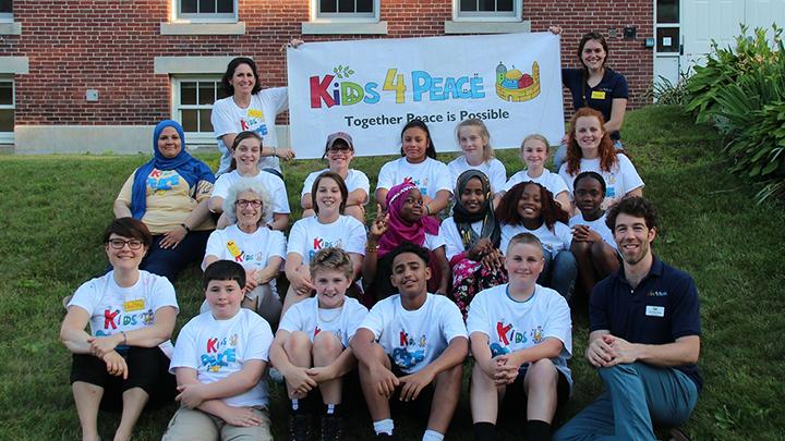 Kids4Peace VT & NH Announces Interfaith Camp, June 24 – July 1