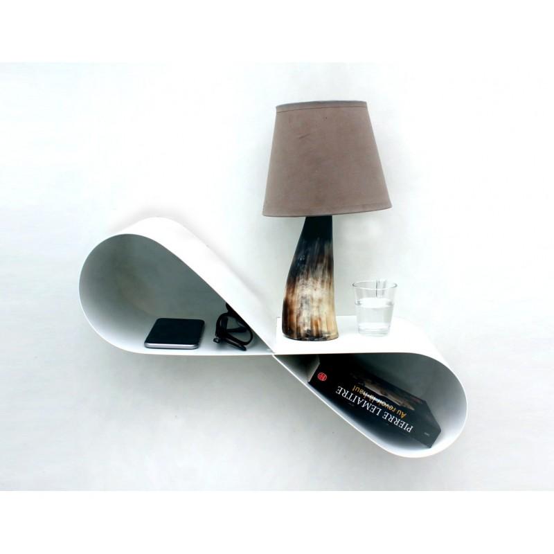 table de chevet murale chevet de lit suspendu design table de nuit