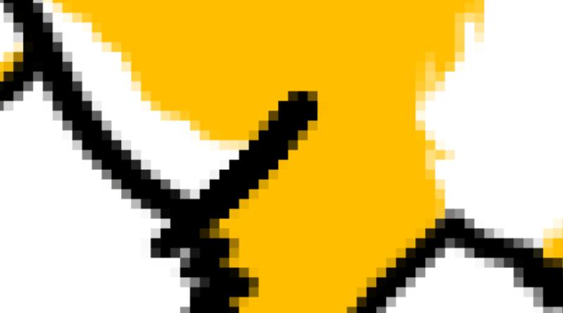 Les pixels de l'image matricielle
