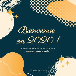 Bienvenue en 2020 !