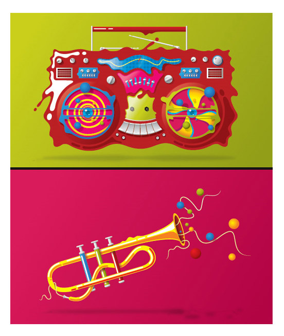 Awesome Vector Illustrations by blindSALIDA