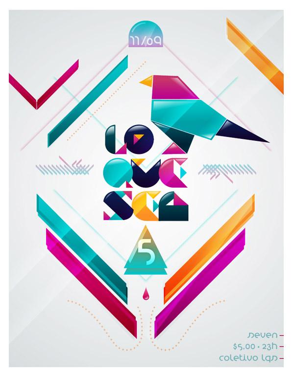 lo que sea party | flyer proposal by rafael bessa