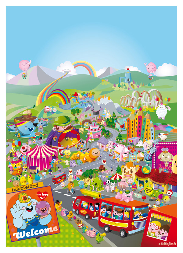 Welcome to Bubbleland! by bubblefriends