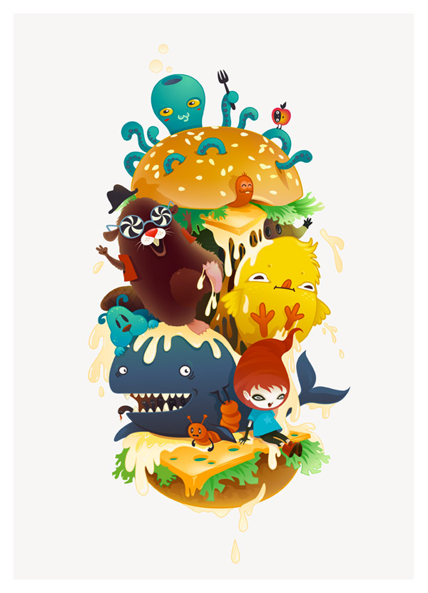 Monsterburger by Zutto