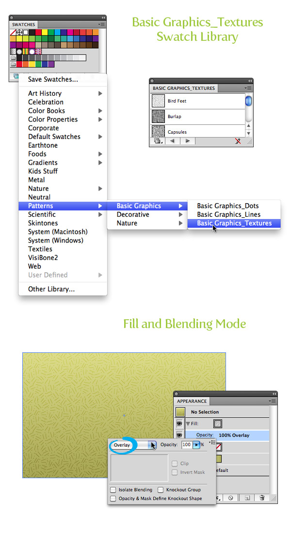 Pattern Fill Texture Step 2