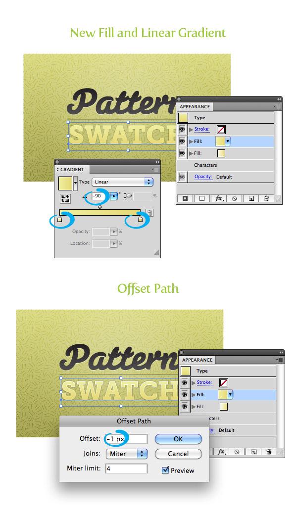 Pattern Fill Texture Step 7