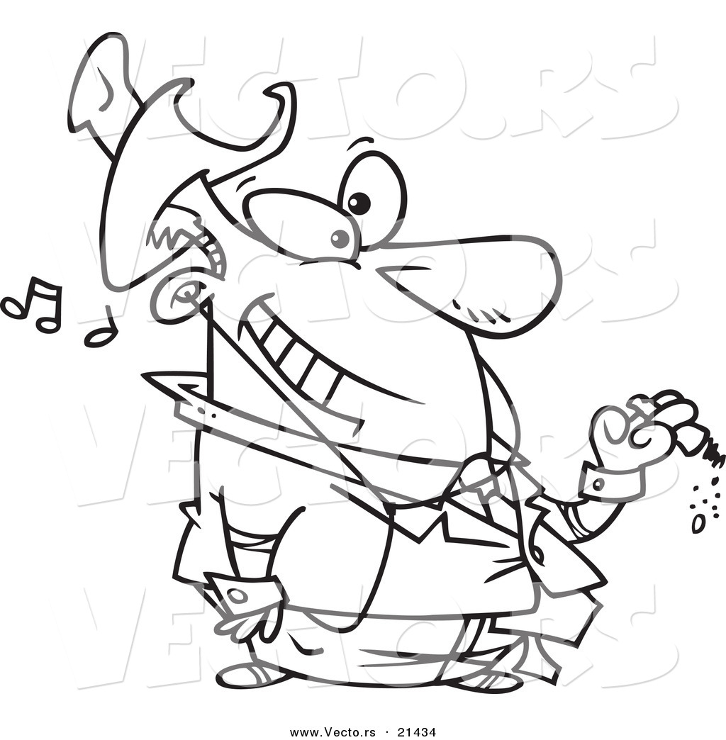 Person Listening Clipart