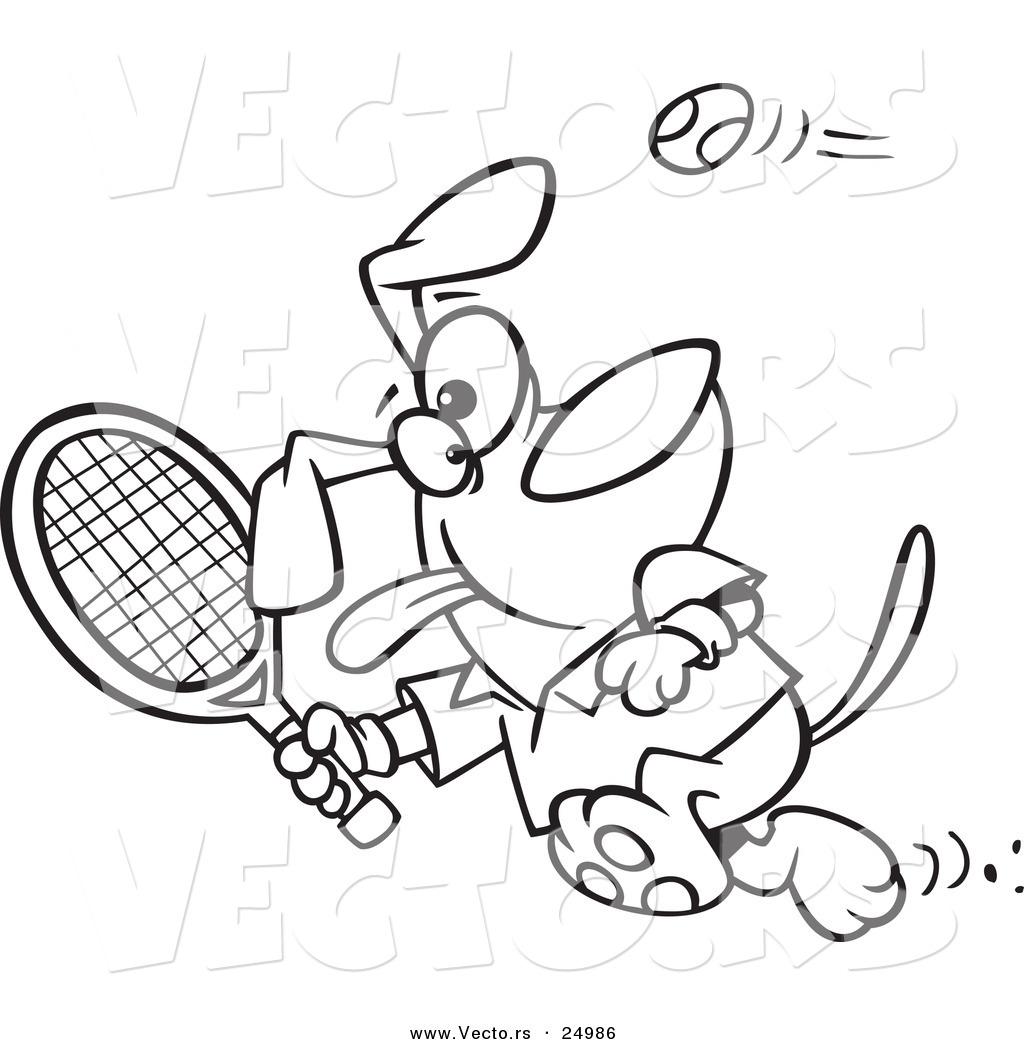 Guy Turkey Cartoon Running