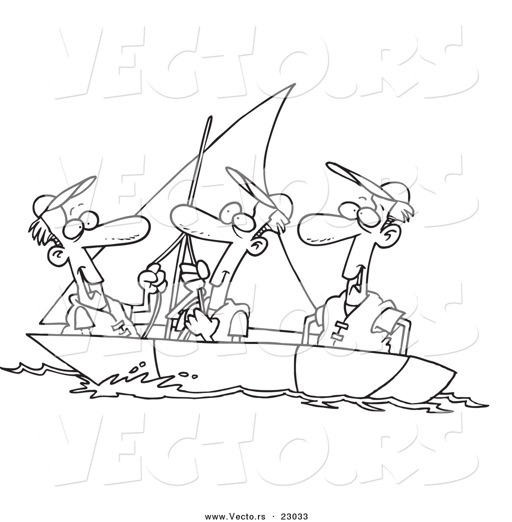 Boat Clip Art Coloring Pages Sketch Coloring Page