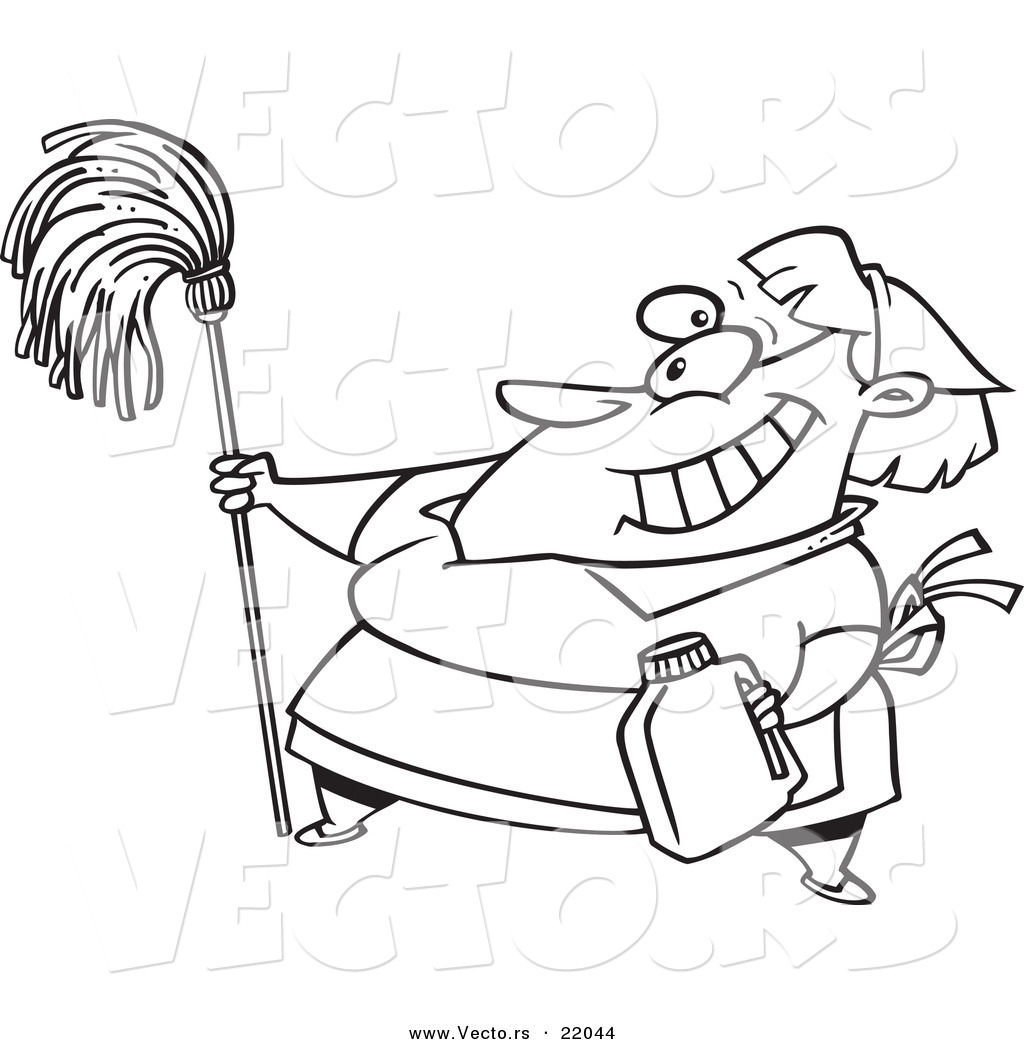 Royalty Free Janitorial Stock Designs