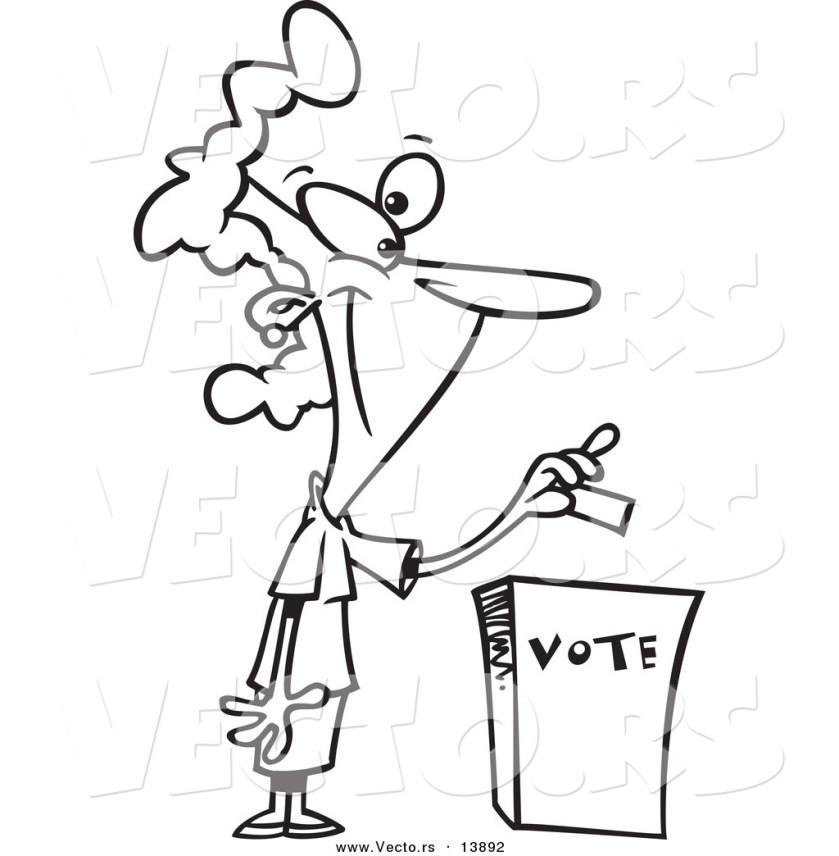 ballot box vector