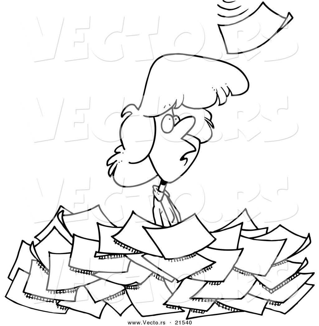 Royalty Free Paperwork Stock Designs