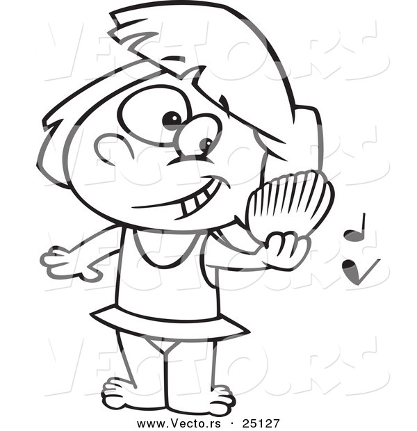 play music on a beach coloring page outline by ron leishman 25127