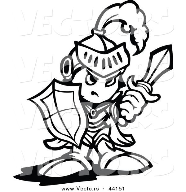Knight Shield Coloring Page kids n fun com 29 coloring pages of lego ...