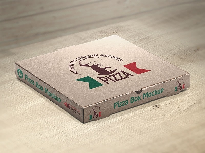 Download Free Customizable Pizza Box Mockups By Vectogravic Design