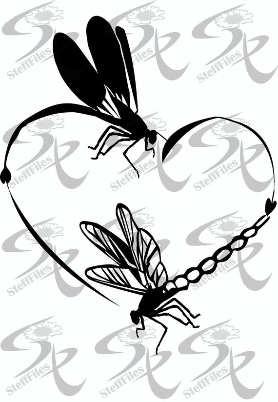 Download Dragonfly Silhouette Vector at Vectorified.com ...