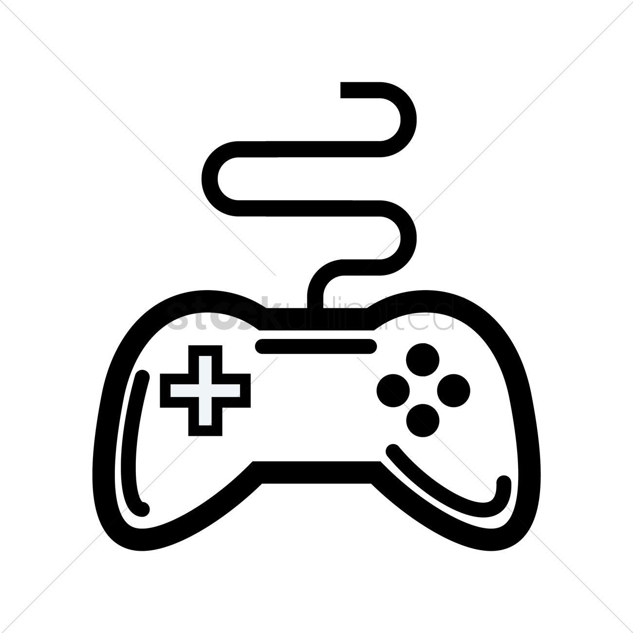 Game Controller Vector At Vectorified