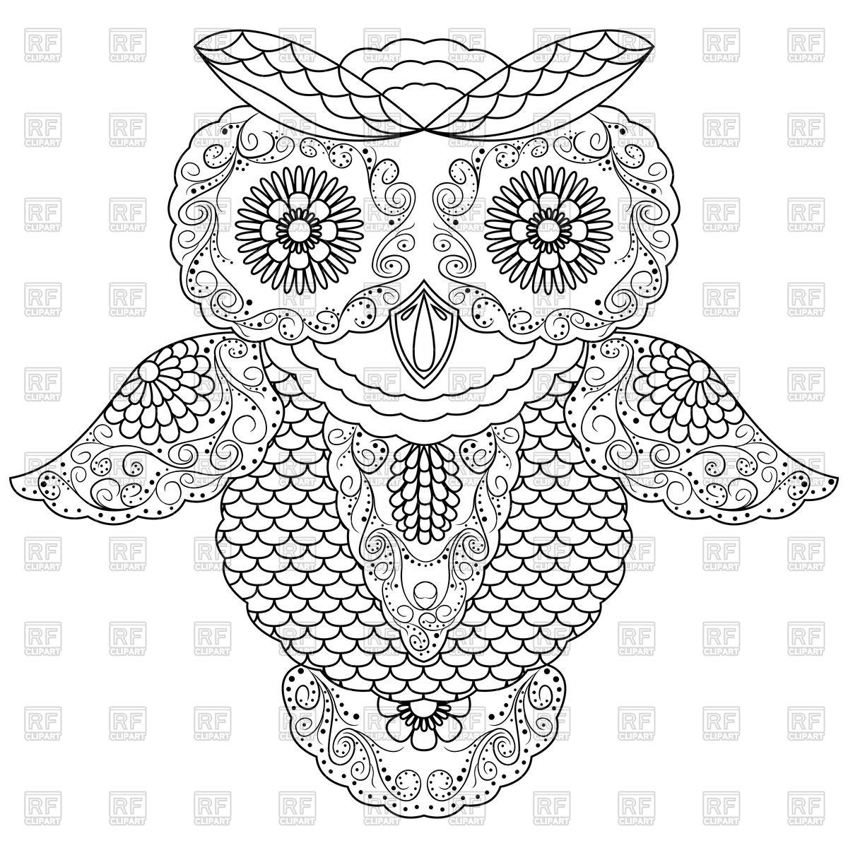 Cute Owl Clipart At Getdrawings
