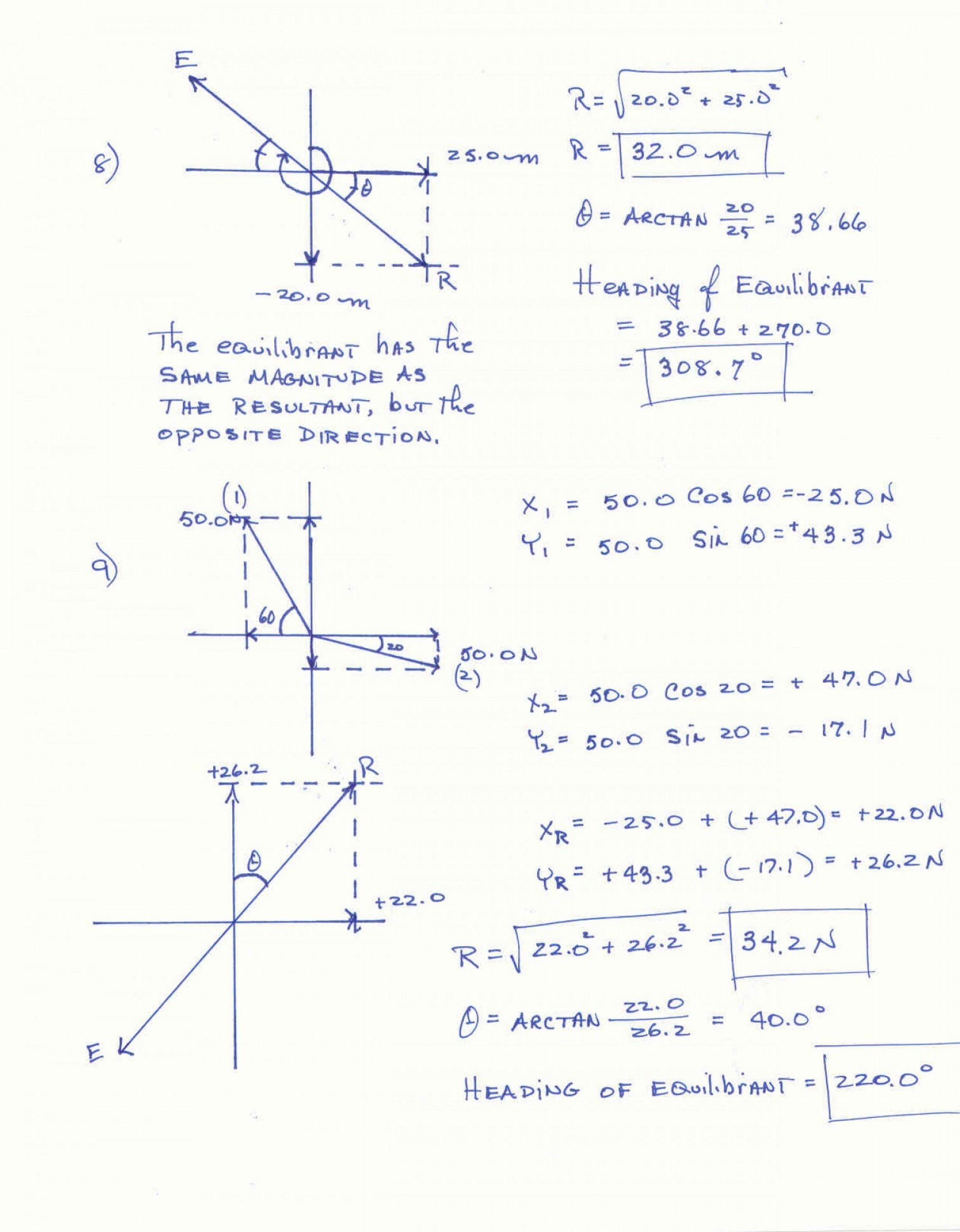 Vector Word Problems Worksheet At Vectorified