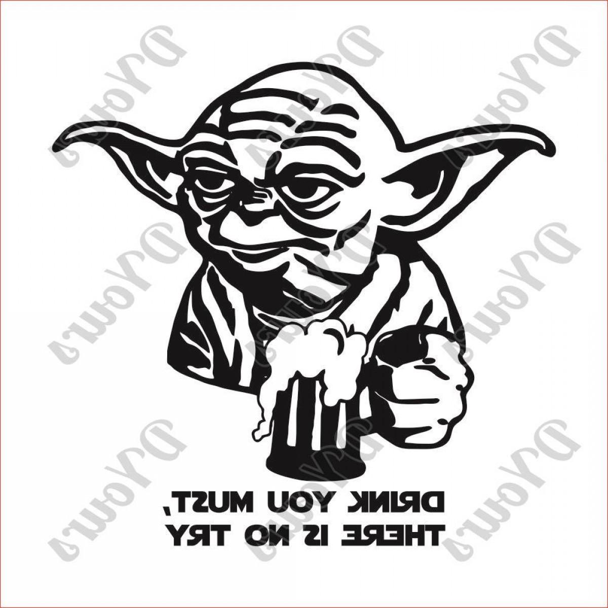 Yoda Vector Image At Getdrawings