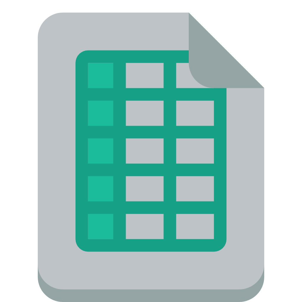 Excel Spreadsheet Icon At Vectorified