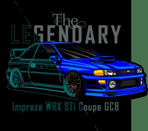 Subaru Impreza WRX GC8 - vectorise