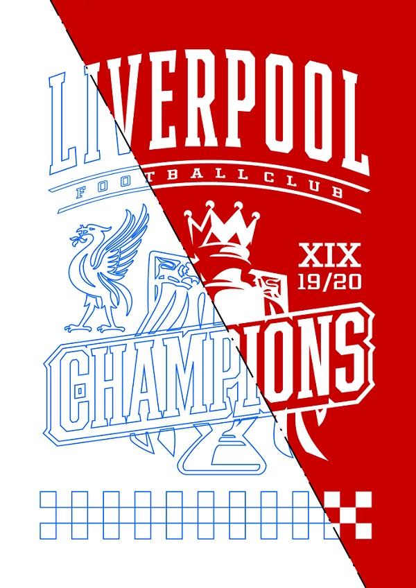 Liverpool Champions 19/20