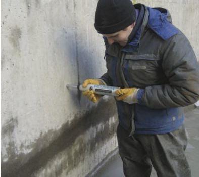Выбор методов контроля прочности бетона