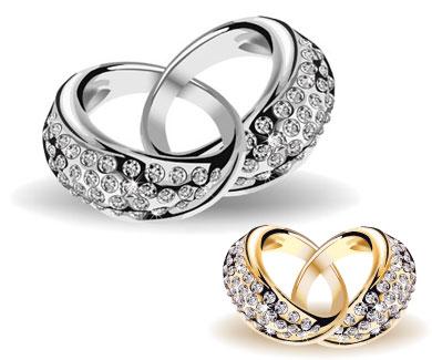 Free Wedding Ring 17 Lovely Wedding Rings Free Vector