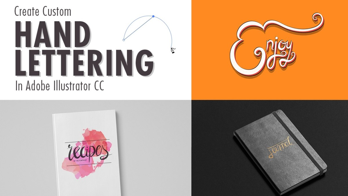 How To Make Beautiful Hand Lettering in Adobe Illustrator CC