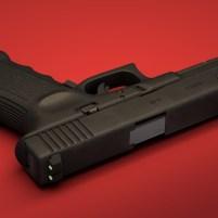 3d model of Glock 17 pistol 04