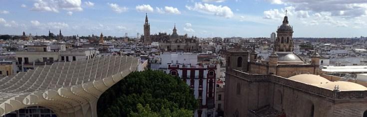 Sevilla. Cathedral. Las Setas.