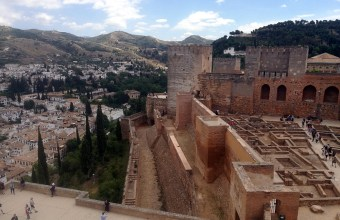Granada: Alcazaba of the Mezquita.