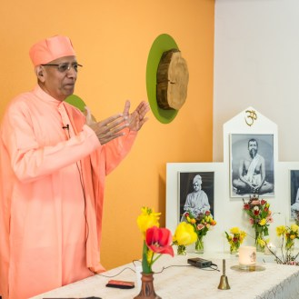 Swami Vimokshananda - Head of the Éire Vedanta Society, Dublin, Ireland