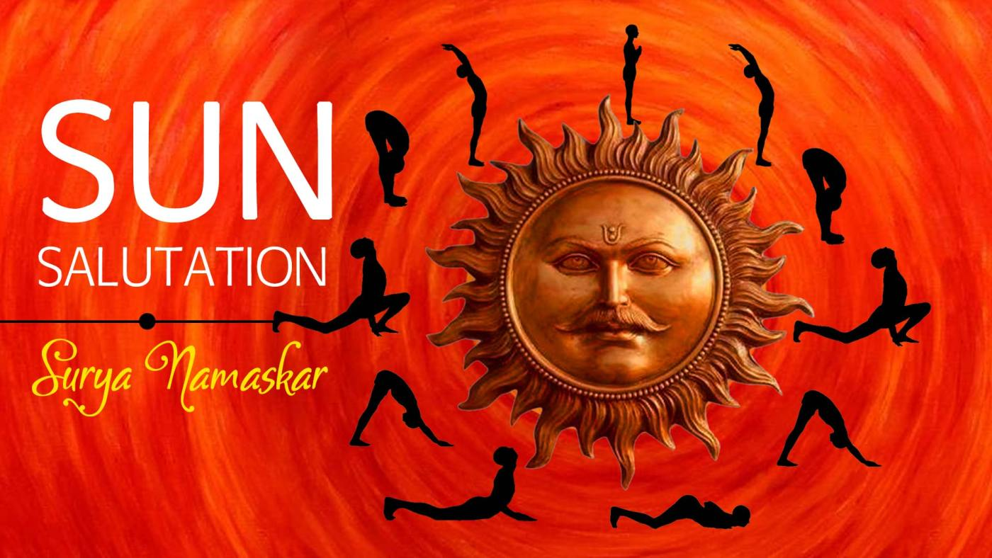 Sun Salutation - Surya Namaskar in Yoga