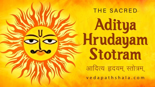 The Sacred Sun God Prayer - Aditya Hrudayam Stotram