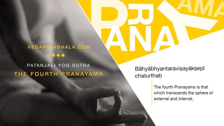 The final stage of pranayama - the fourth pranayama from Patanjali Yoga Sutra