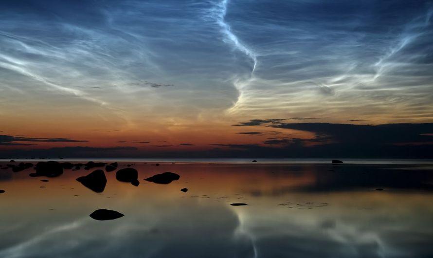 Oblaky, ktoré svietia