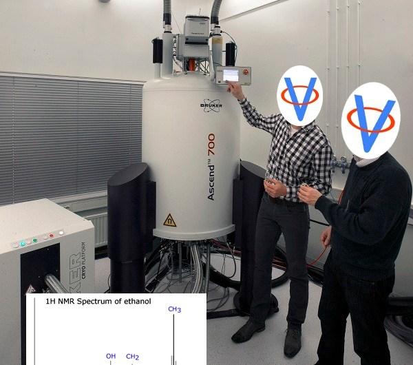 Magnetická rezonancia II – Spektroskopia jadrovou magnetickou rezonanciou