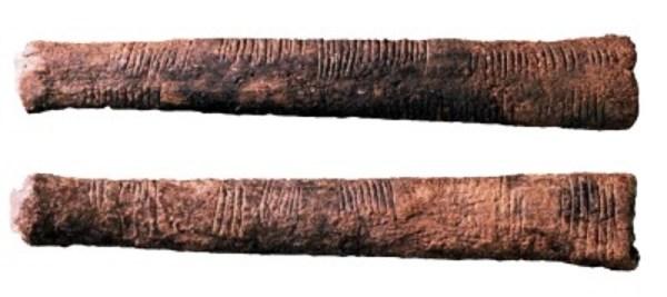 Počítacia kosť z Ishanga (c. 18 000 pred n.l.)