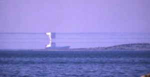 Otočená loď