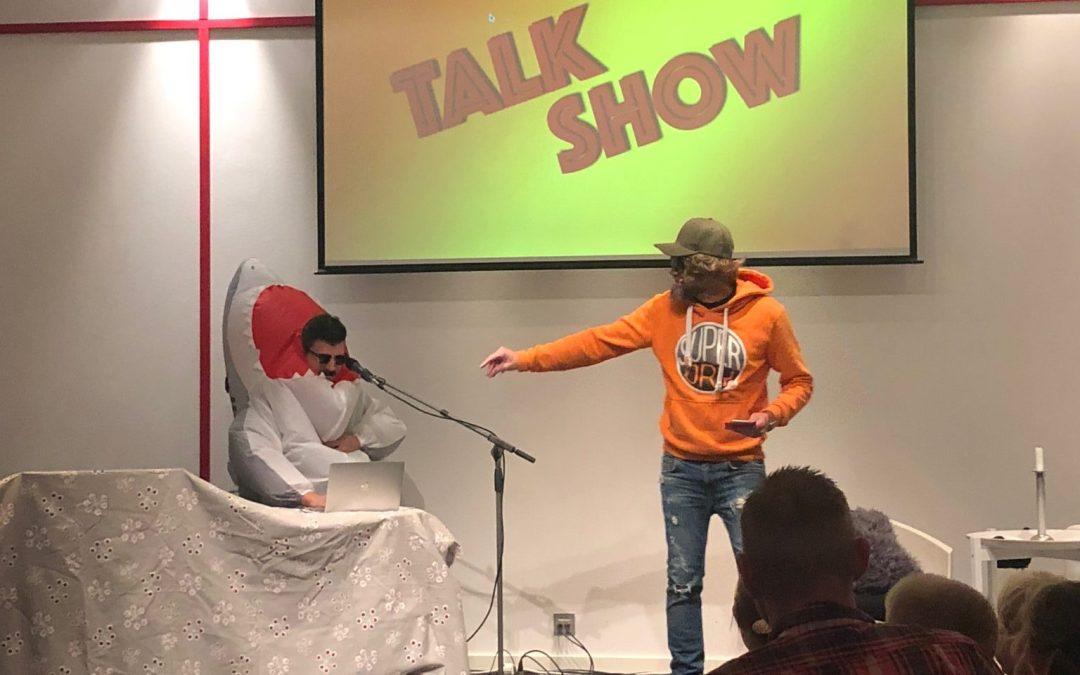 Ett möte med Tåny och DJ-Shark från Veddiges egna Talkshow