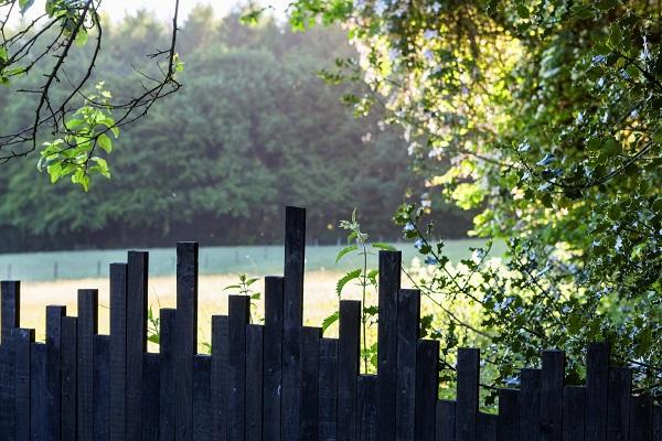 Black Fence Veddw House 3 Copyright Charles Hawes