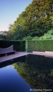 Veddw - South Garden - Reflecting Pool
