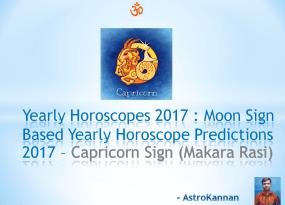 Yearly Horoscopes 2017 | 2017 CAPRICORN HOROSCOPE / 2017 MAKARA HOROSCOPE