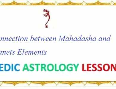 Mahadasha and Planets in Vedic astrology