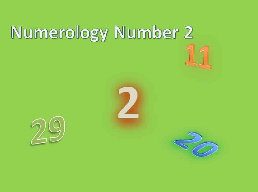 The Numerology Number 2 Life Path Number Destiny Number 2 Meanings
