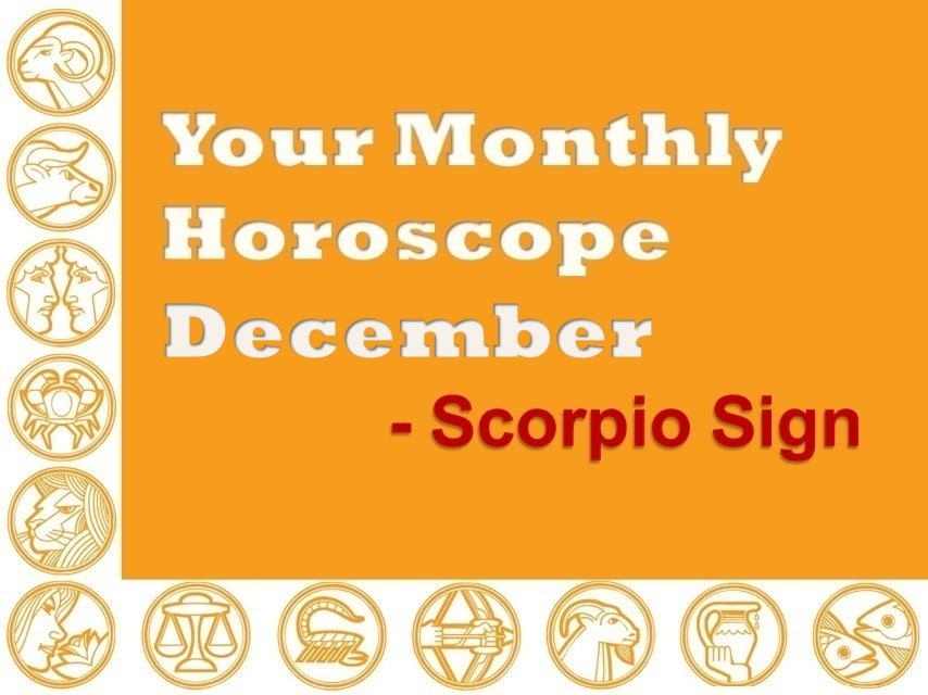 Your Monthly Horoscope December 2019 Scorpio Sign - Vedic Astro