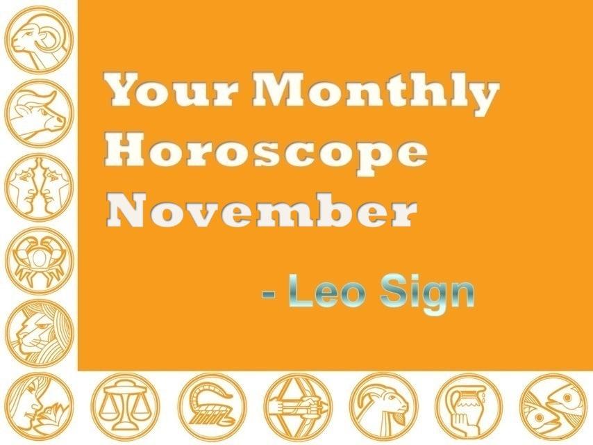 horoscopes november 2019 leo