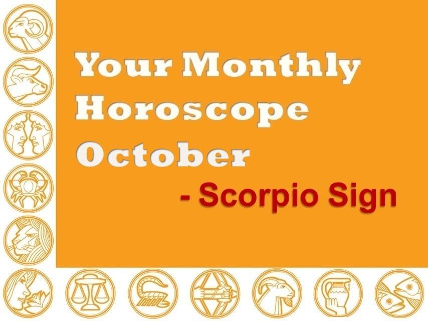 scorpio 2019 horoscope october